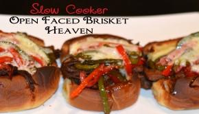 Slow Cooker Open Faced Brisket Heaven by ShesGotFlavor