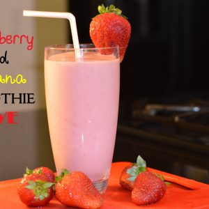 Strawberry & Banana Smoothie Love by ShesGotFlavor
