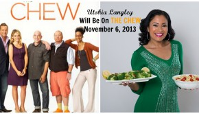 Utoka on The Chew November 6 2013