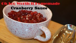 Oh Soo Worth It Homemade Cranberry Sauce | ShesGotFlavor