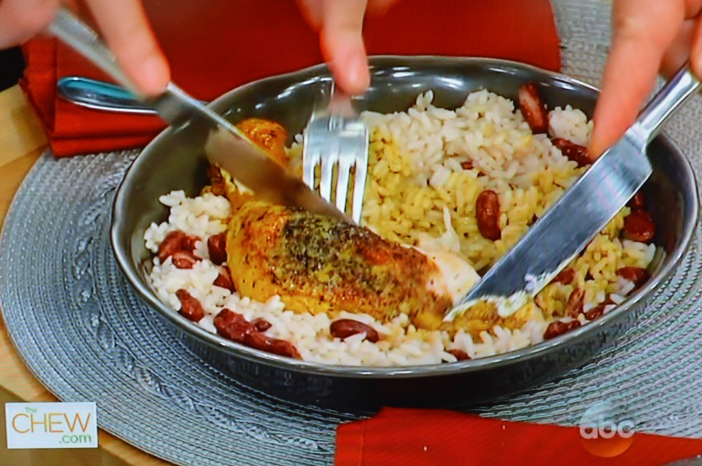 The Chew - Curry Chicken with Utokia Langley of Shes Got Flavor