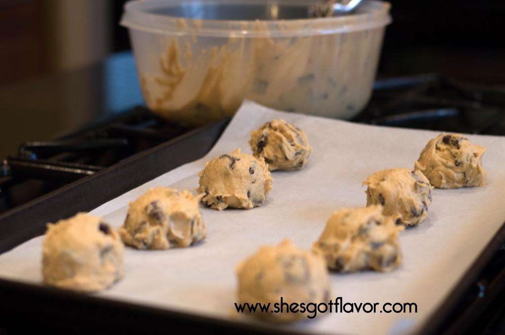 Thin Crispy Oooey Gooey Amazing Chocolate Chunk Cookies | ShesGotFlavor