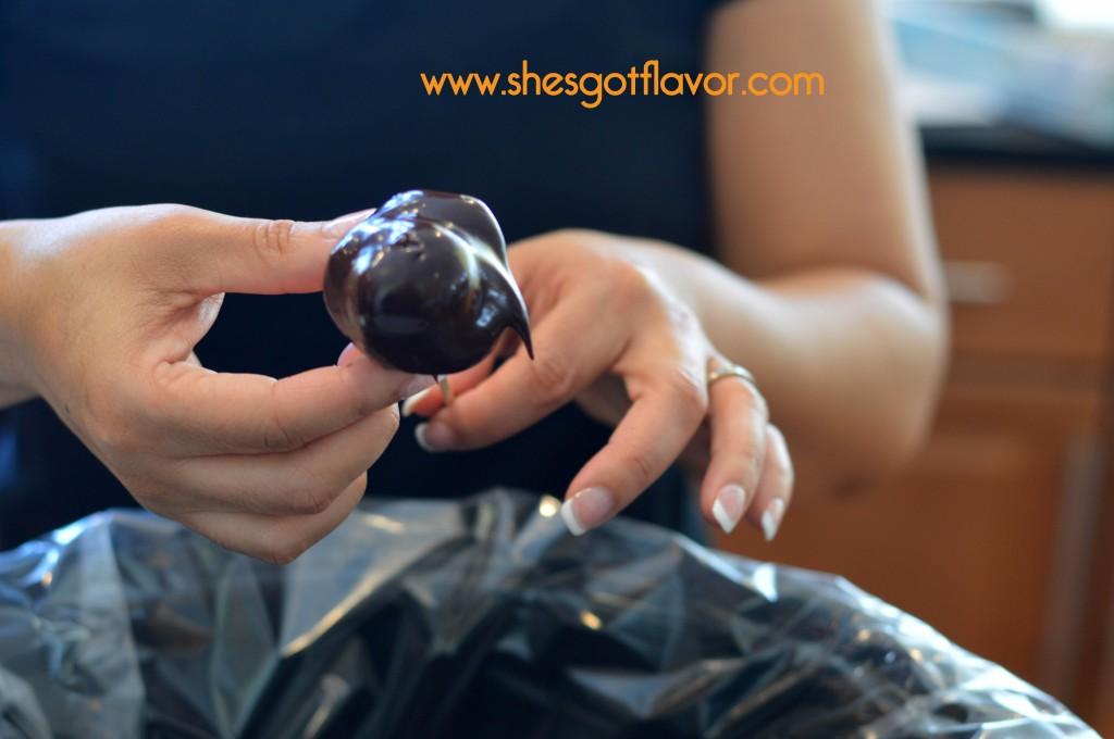 Chocolate Banana Cream Puffs   ShesGotFlavor