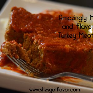 Amazingly Moist and Flavorful Turkey Meatloaf | ShesGotFlavor