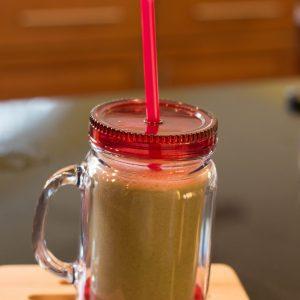 Delicious Fruity Green Smoothie | ShesGotFlavor