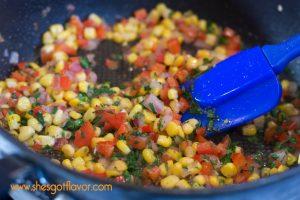 Southwestern Crab Balls and Sriracha Sauce   ShesGotFlavor