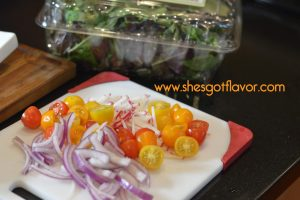 Delicious Garlic and Herb Steak Salad with Honey Balsamic Vinaigrette Dressing | ShesGotFlavor