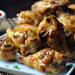 Baked Thai Chicken Wings | no gojis no glory