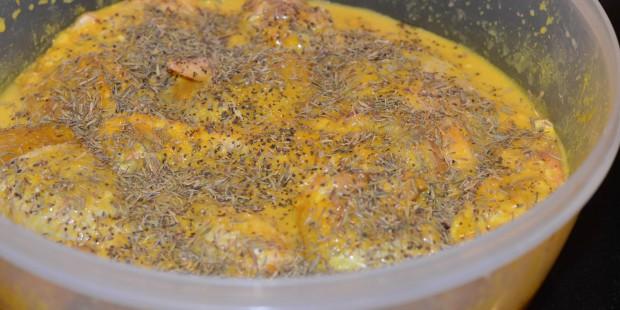 Crispy Juicy Curry Fried Chicken   ShesGotFlavor, fried chicken wings, fried chicken breasts, curry chicken, coconut milk