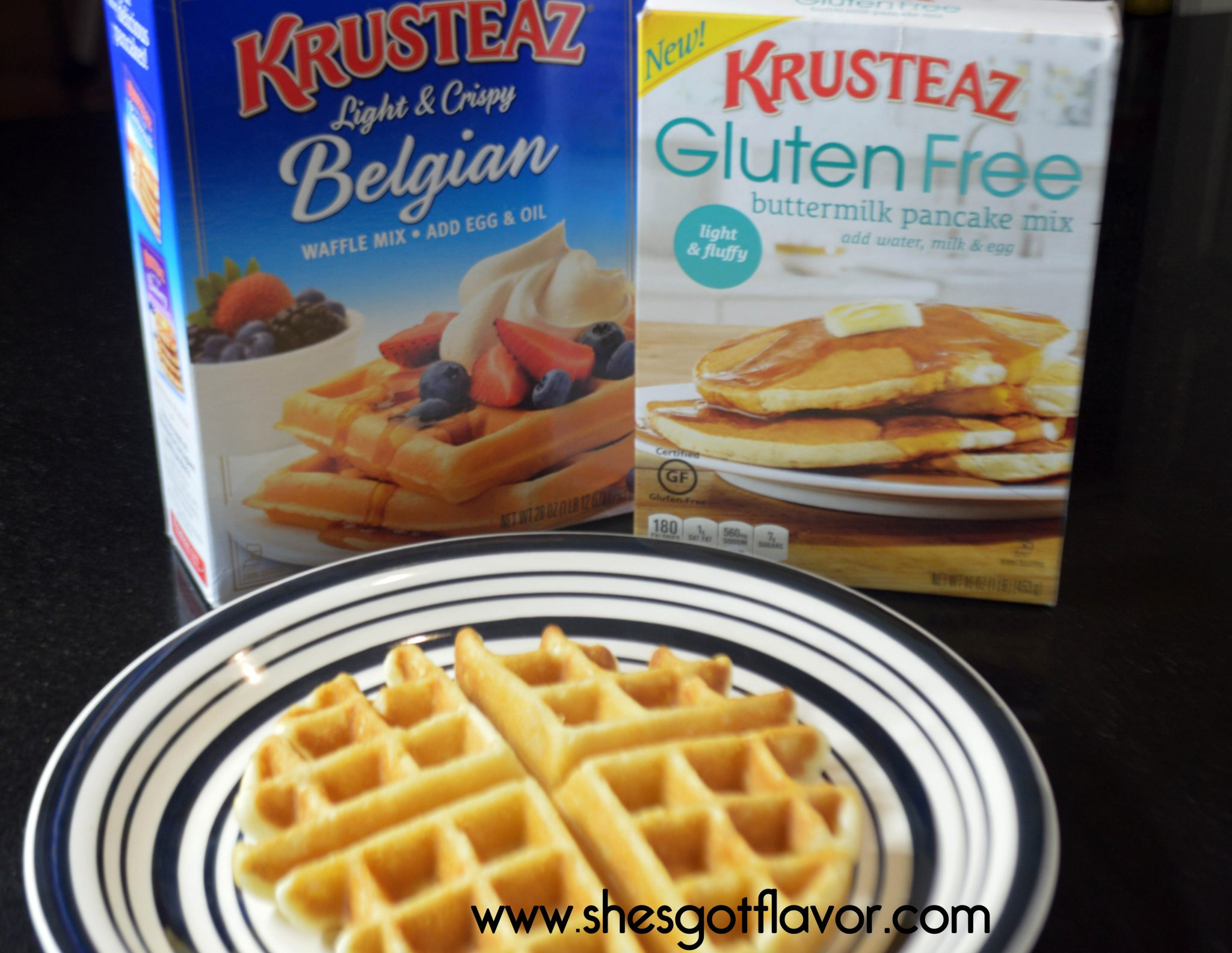 Creamy Crab Belgian Waffles for Krusteaz by ShesGotFlavor