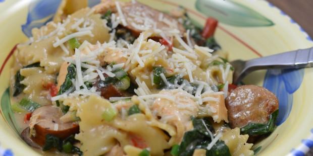 Salmon and Chicken Jambalaya | ShesGotFlavor