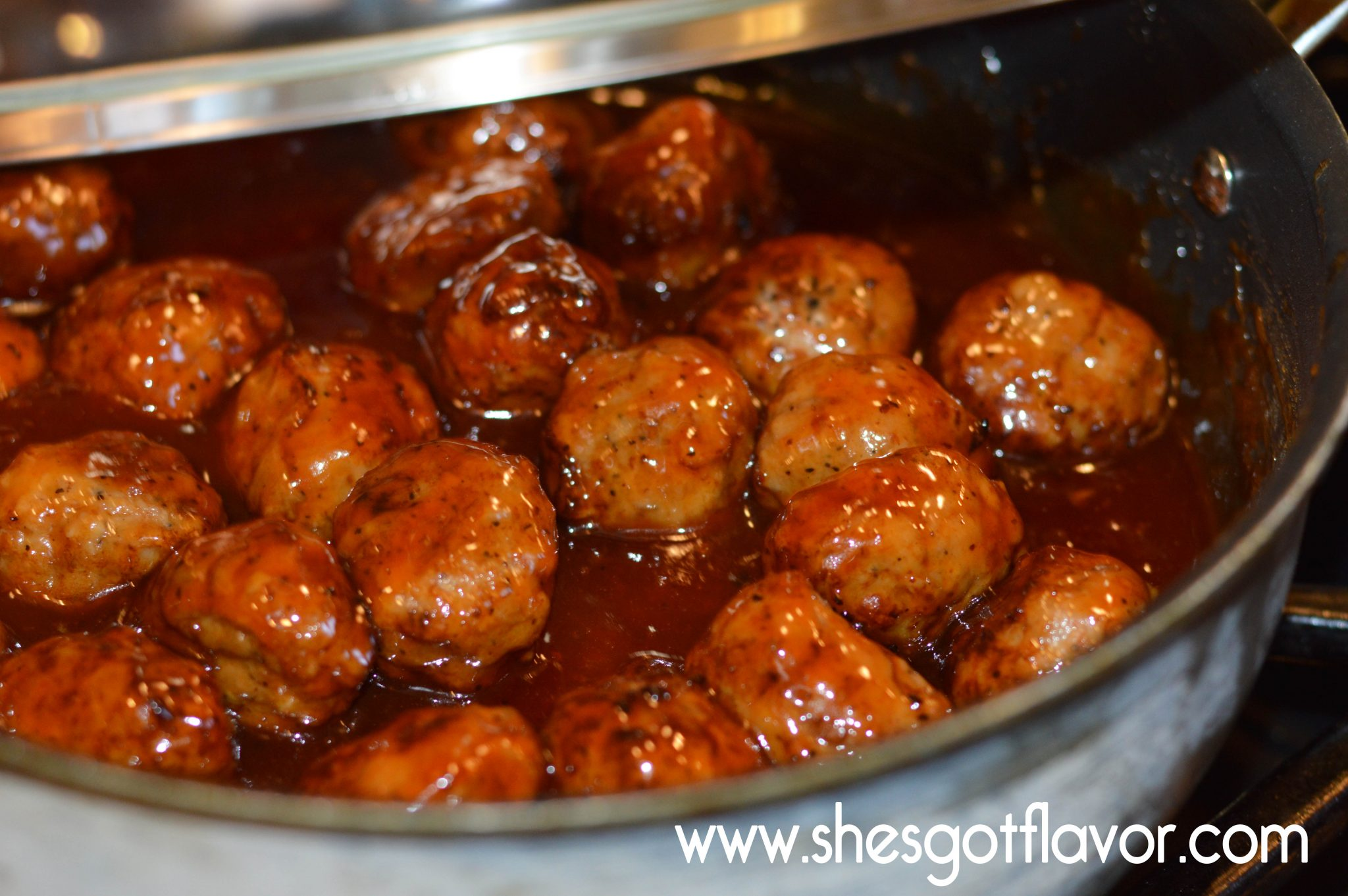 Chicken Meatballs and Homemade Mumbo | ShesGotFlavor