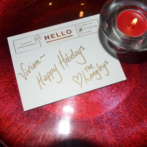 Personalized Holiday Table Setting   ShesGotFlavor