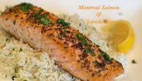 Montreal Salmon Chipolte Rice | ShesGotFlavor