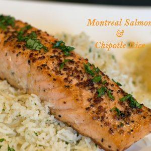 Montreal Salmon Chipolte Rice   ShesGotFlavor