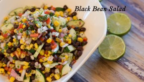 Black Bean Salad | ShesGotFlavor