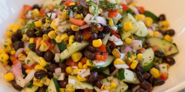 Black Bean Salad | ShesGotFlavor