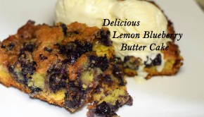 Lemon Blueberry Butter Cake | ShesGotFlavor