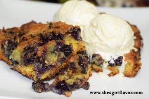 Lemon Blueberry Butter Cake   ShesGotFlavor