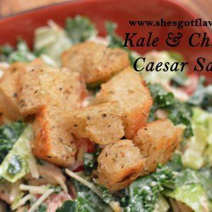 Kale Caesar Salad   ShesGotFlavor