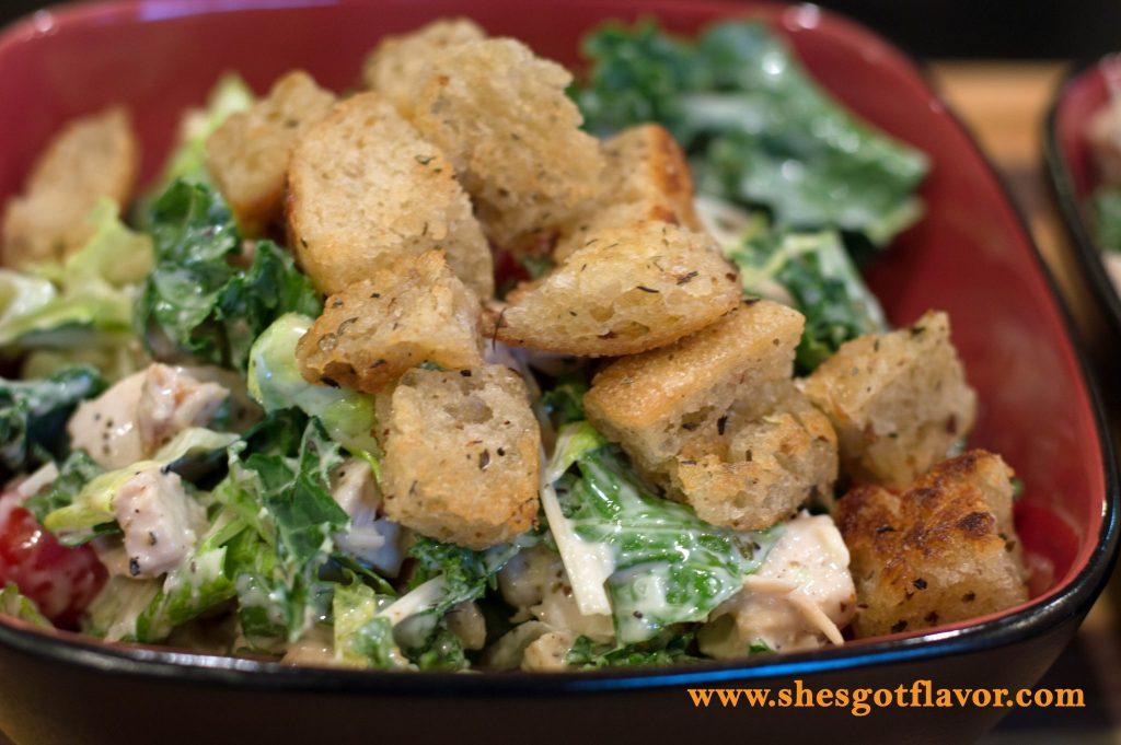 Kale Caesar Salad | ShesGotFlavor