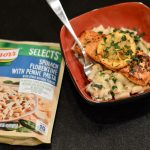 Creamy Lemon Salmon with Florentine pasta
