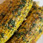 juicy cheese buttery corn on the cob